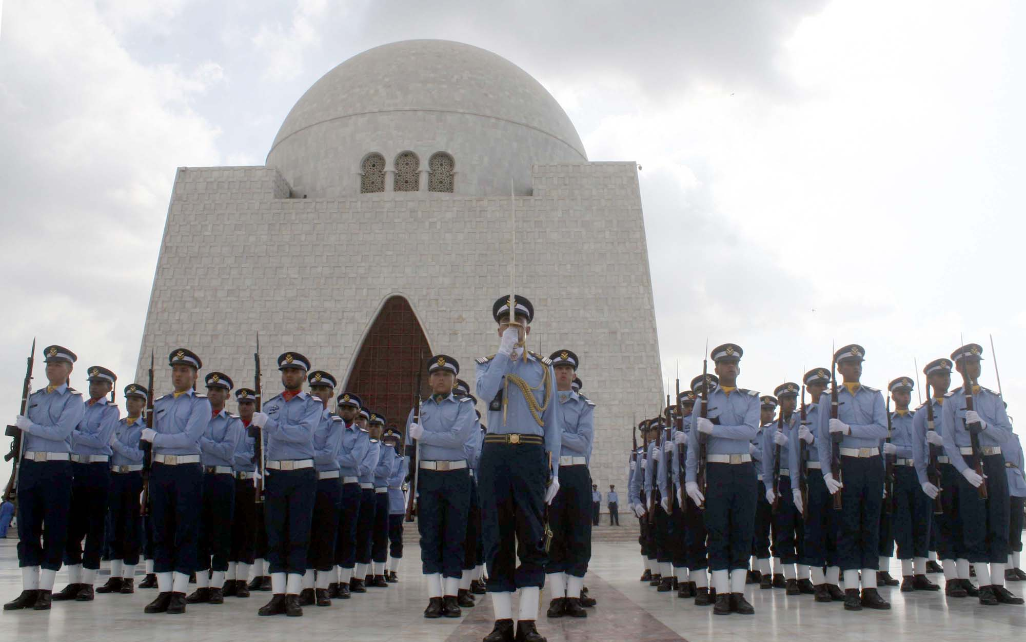 14 August At Mazar-e-Quaid