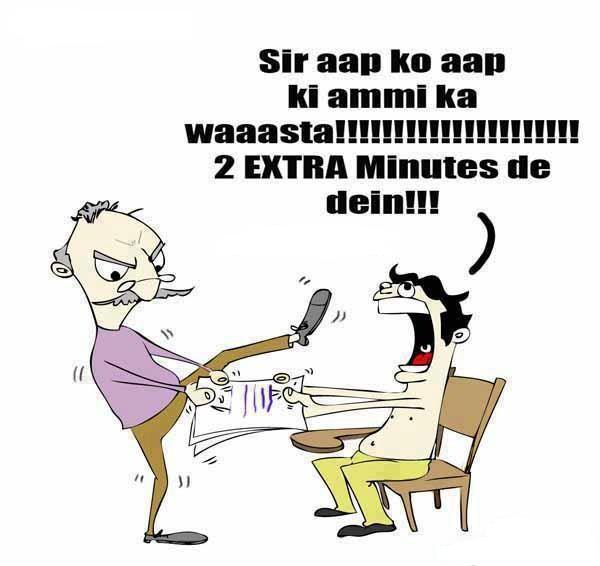 Sir 2 Minutes Extra Please