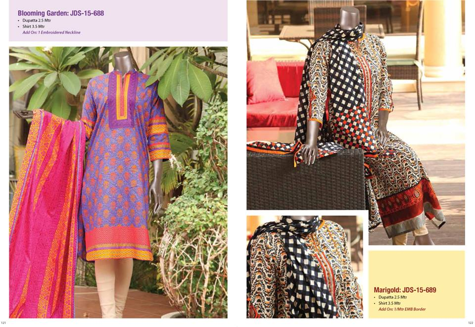 Junaid Jamshed Lawn Collection
