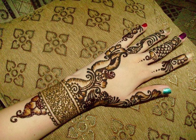 New Style Mehndi Design