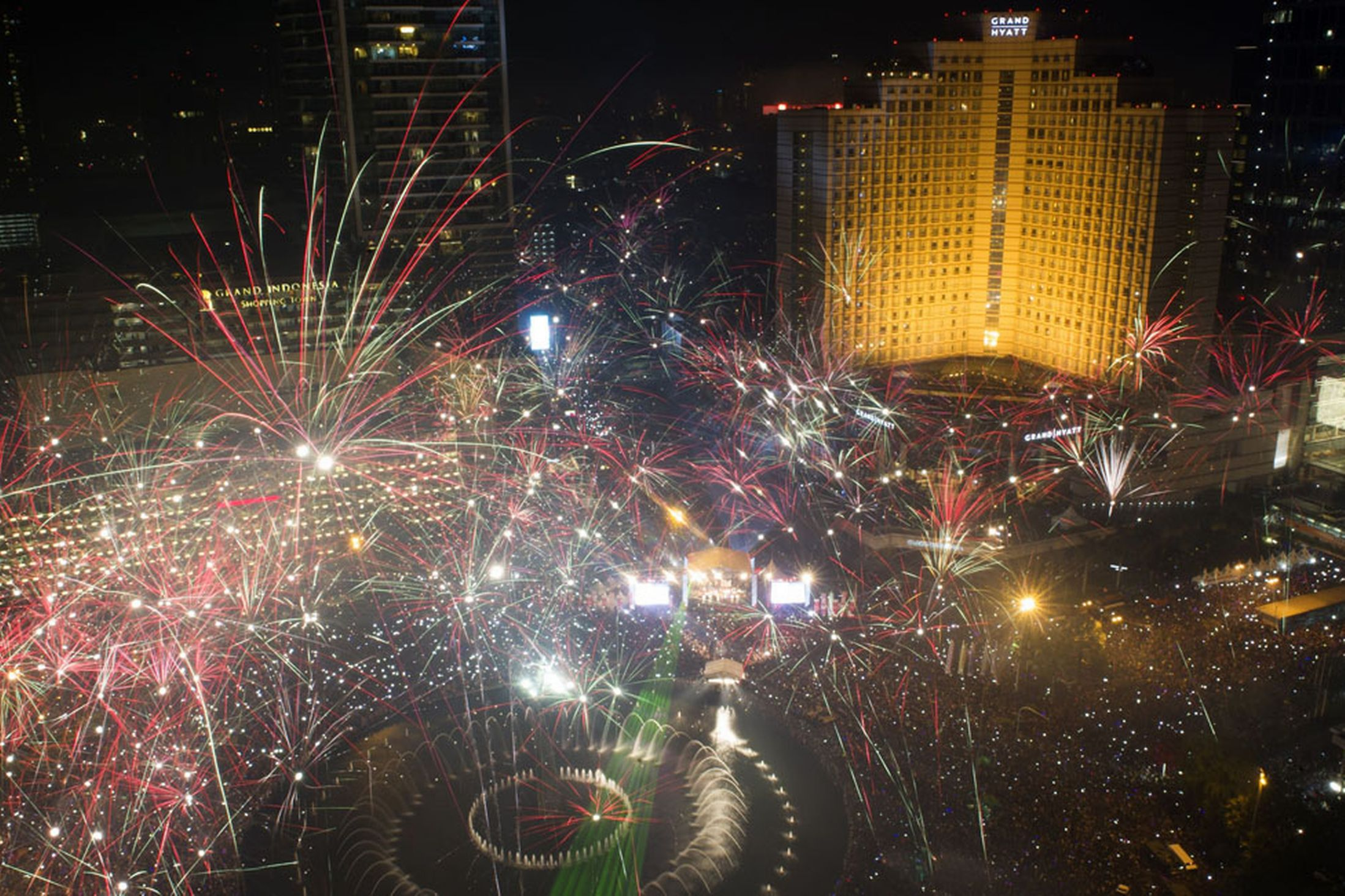 New Years Eve in Jakarta