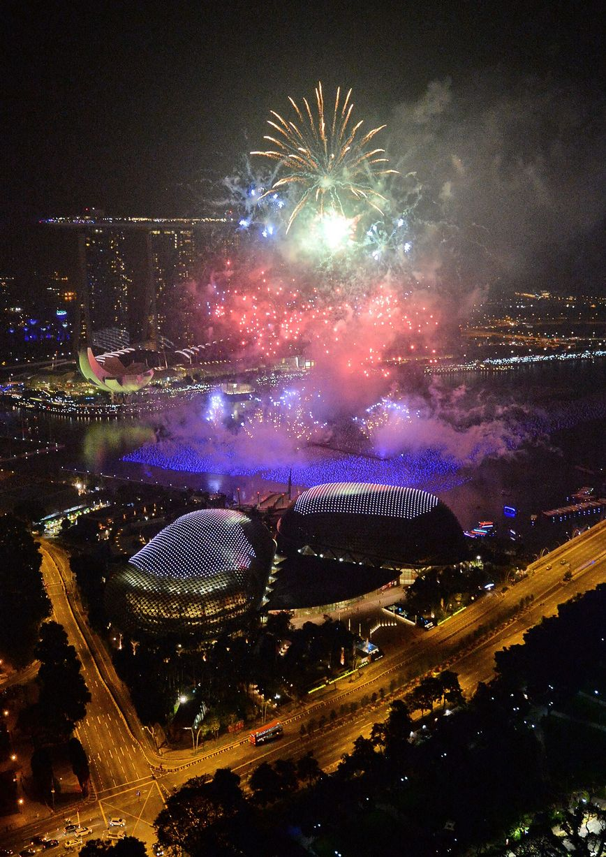 New Years Eve in Singapore
