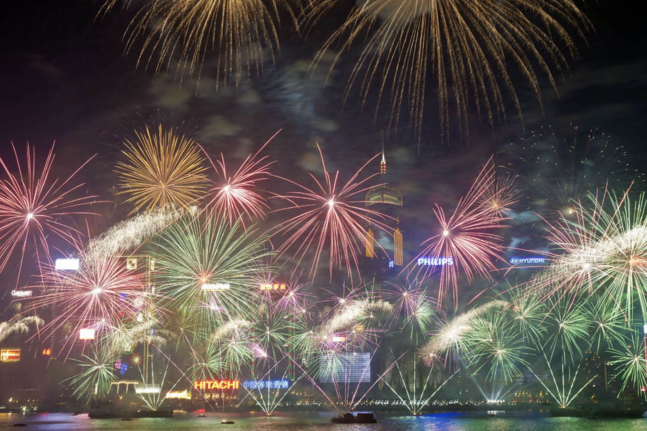 New Years Eve in Hong Kong