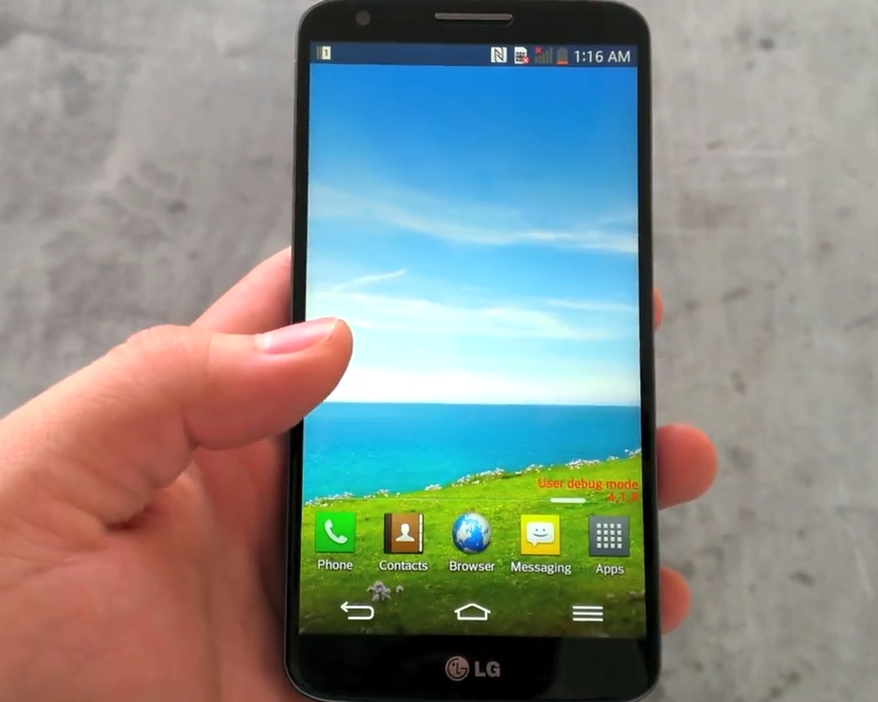 #3 The LG G2 has the most gorgeous screen we
