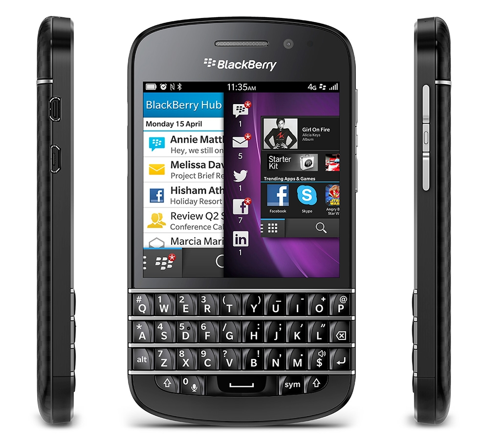 #9 The BlackBerry Q10 is the best keyboard phone you can buy