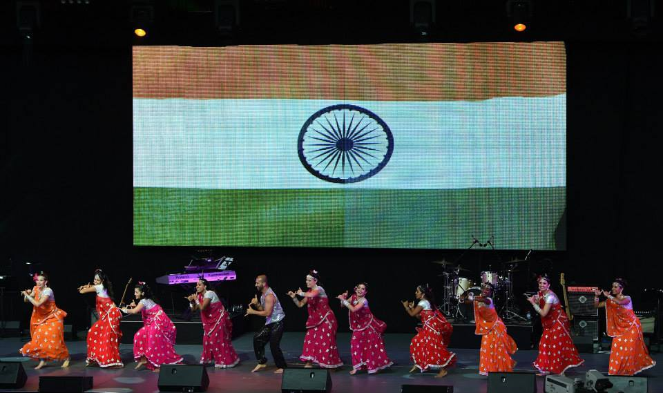 Indian Cultural Dance Performance At WC 2015