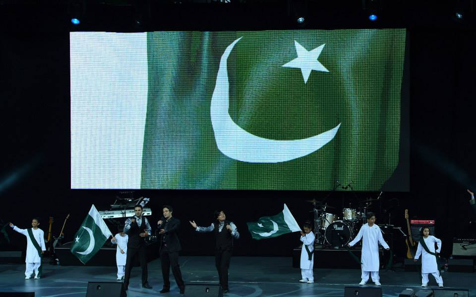 Jazba Junoon Song Performed during Pakistan World Cup Opening Ceremony