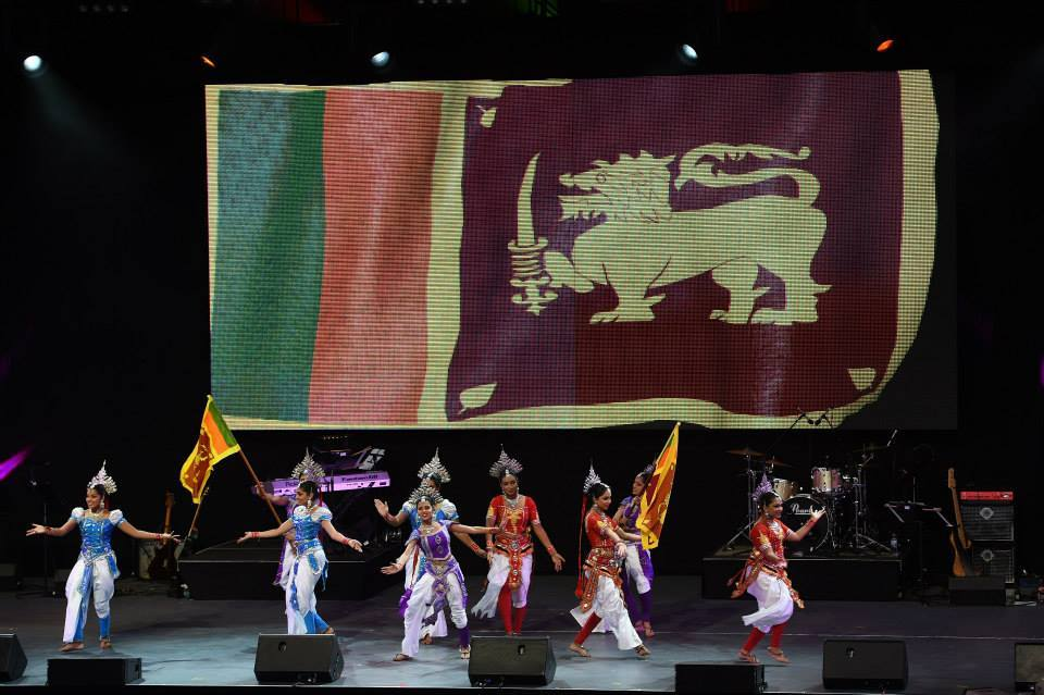 Sri Lankan Cultural Dance Performance At WC 2015 Opening Ceremony