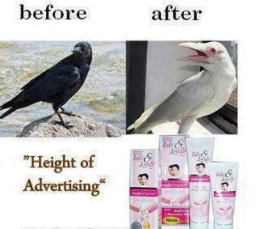 Height of advertising