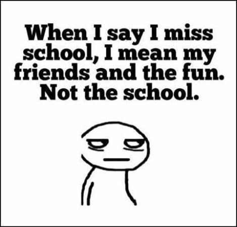 I Miss School days