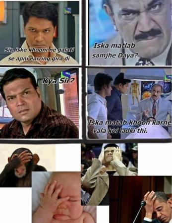 CID Funny Comments
