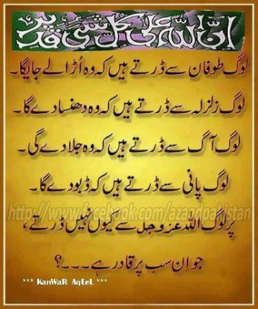 Allah sab per Qadir hai