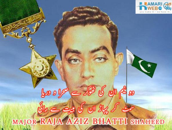 Major Aziz Bhatti Shadeed