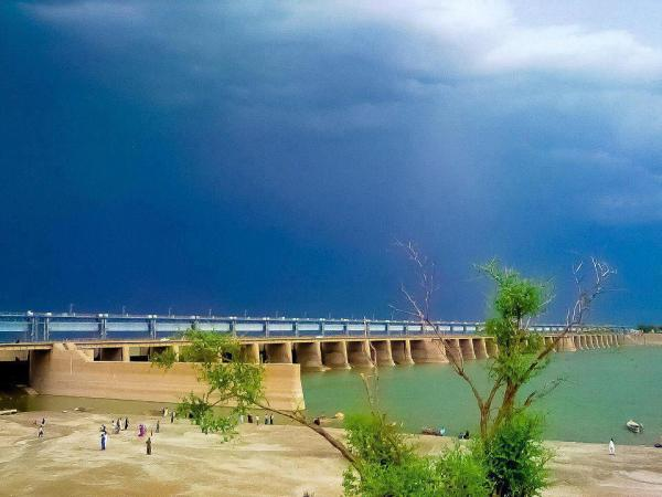 Bridge of Mighty Indus River, Jamshoro Hyderabad