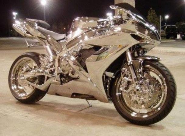 Silver Bike