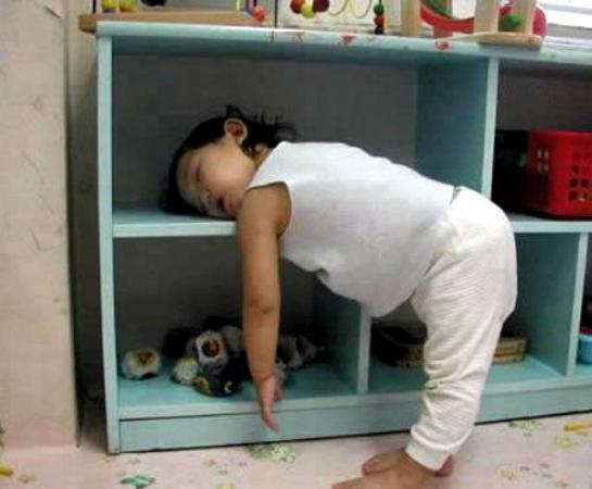 Children Funny Sleep