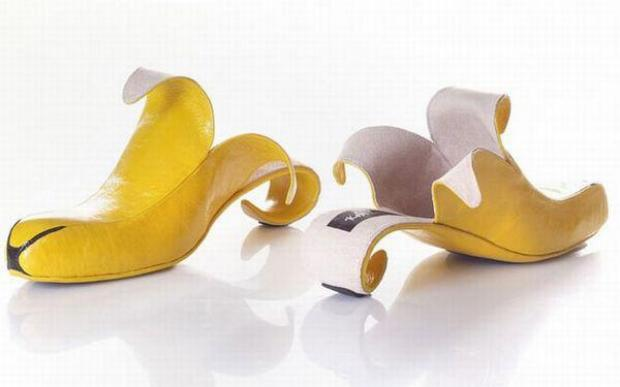 Banana Style Shoes