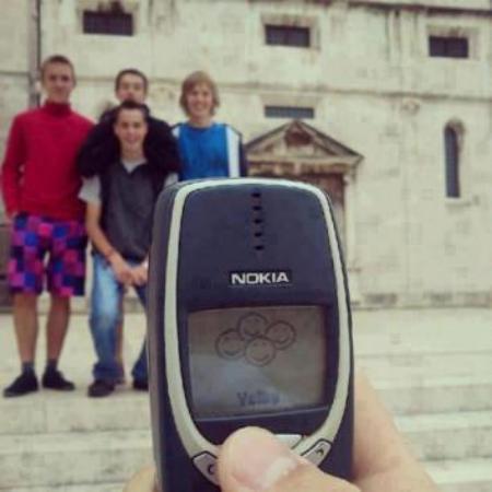 Nokia 3310 with camera