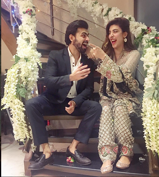 Actress Urwa Hocane First wedding Function Photos