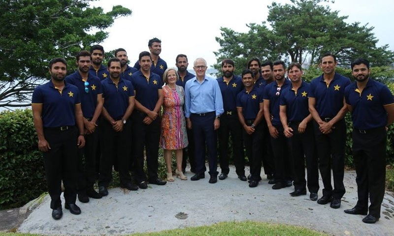 Australian Prime Minister Hosts Pakistan Cricketers On New Year