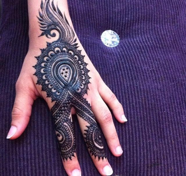 how to make beautiful mehndi designs