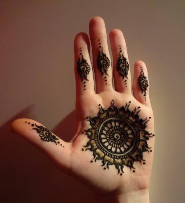 Side Hand Mehndi Design - Latest Mehndi Designs 2014 : 38 pics