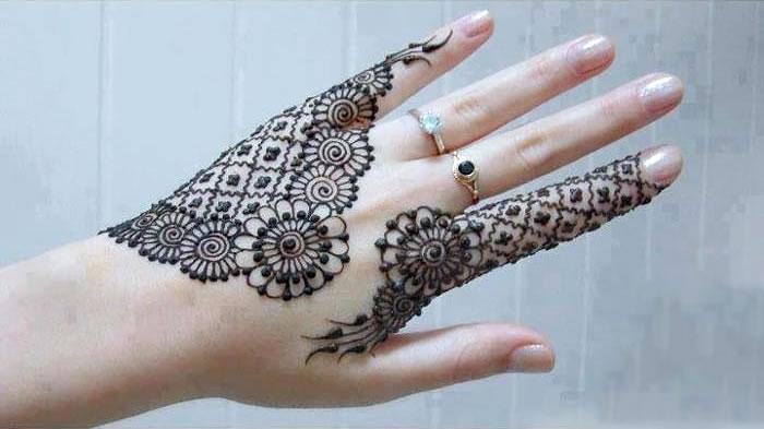 Back And Front Hand Mehndi - Latest Mehndi Designs 2014 : 38 pics