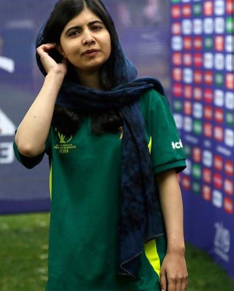 Malala Yousafzai At The Opening Ceremoney Of World Cup 2019