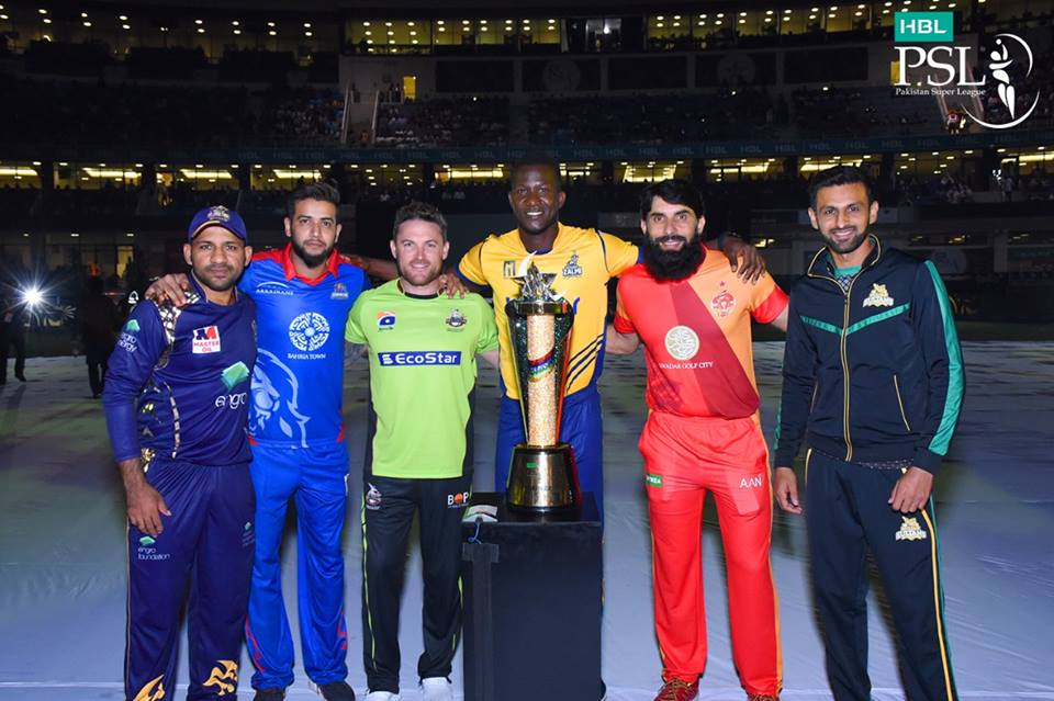 Opening Ceremony Of PSL 2018 At Dubai International Cricket Stadium
