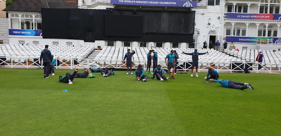 Pakistan Team Practice At Trent Bridge, Nottingham For World Cup 2019