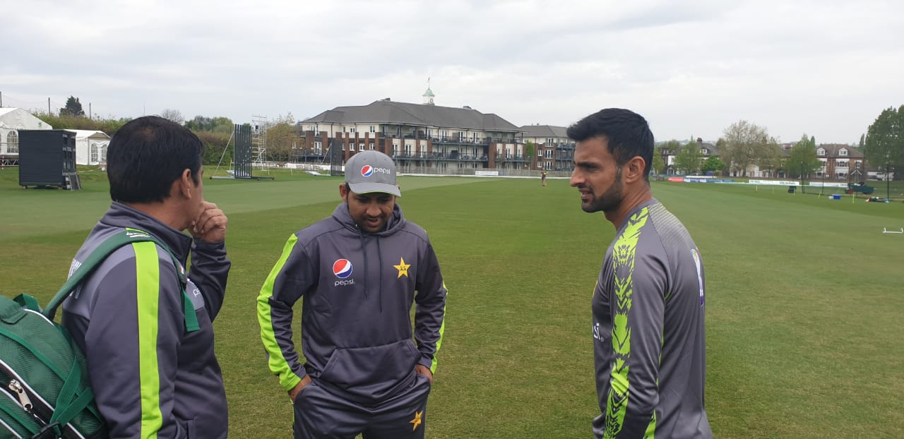 Pakistan Team Practice Session In England