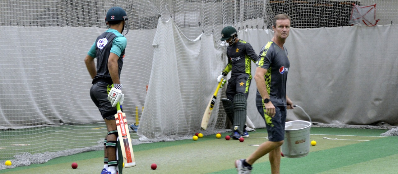 World Cup 2019 Pakistan Squad Practicing