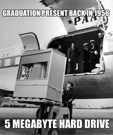 5 Megabyte Hard Drive