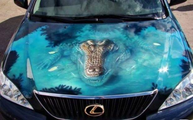 Super 3d car paint