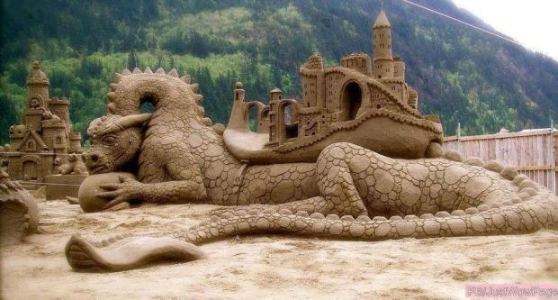 The Biggest and The BEST Sand Art Ever