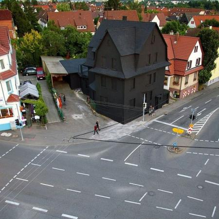 A Complete Black House in Germany