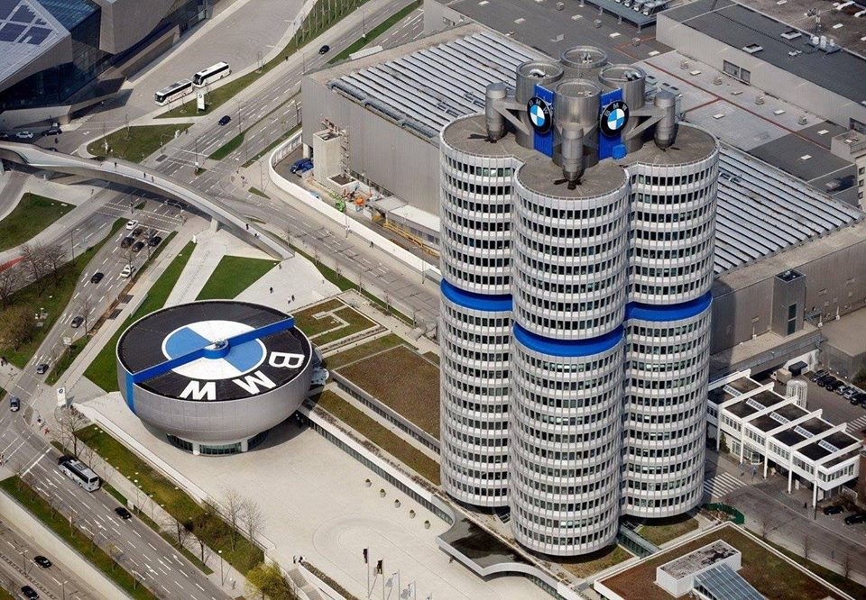 bmw headquarters munich germany architecture buildings images photos. Black Bedroom Furniture Sets. Home Design Ideas