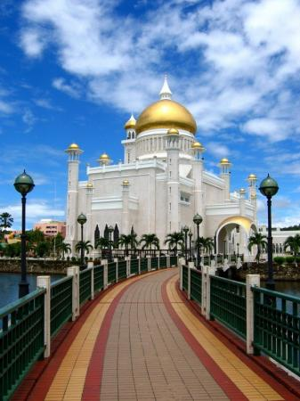 Brunei Mosque - Amazing Architecture!