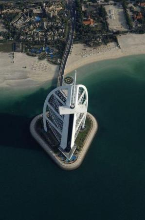Helicopter View.... Burj Al Arab