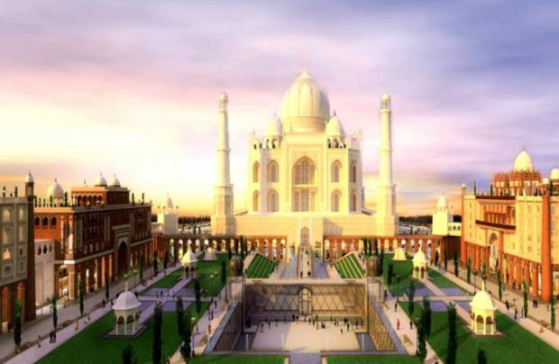 TAJ Arabia, Dubai-Replica of Real taj Mehal(1 Bln$ Project)