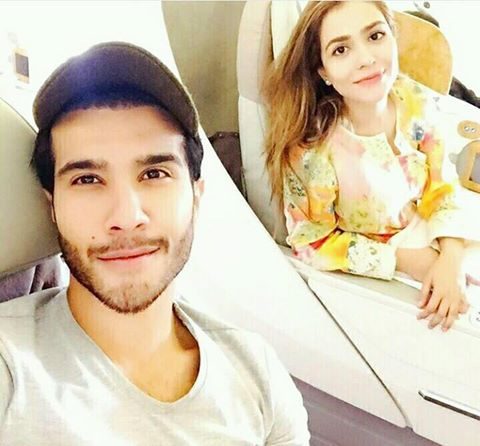 ‎Feroze Khan‬ With His Sister ‪‎Humaima Malik‬
