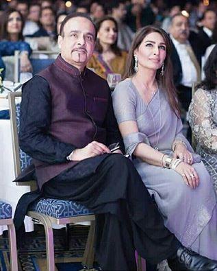 Reema Khan With Her Husband
