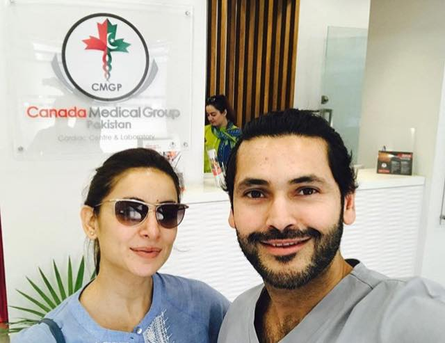 A Latest Selfie Of Sarwat Gillani & Fahad Mirza