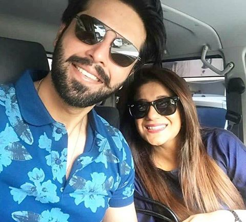 A Lovely Selfie Of Mr. & Mrs. Fahad Mustafa