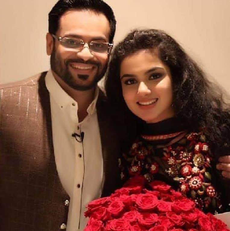 Aamir Liaquat Celebrates Eid With His 2nd Wife Syeda Tuba
