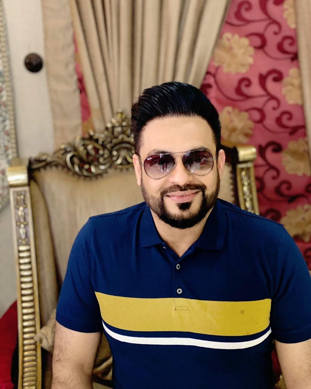 Aamir Liaquat With His New Look