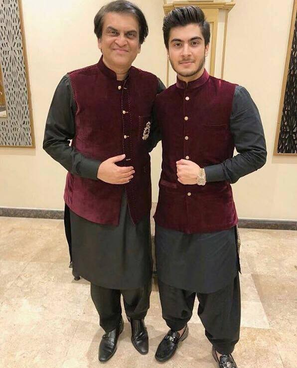 Abdullah Kadwani Along With His Son Haroon