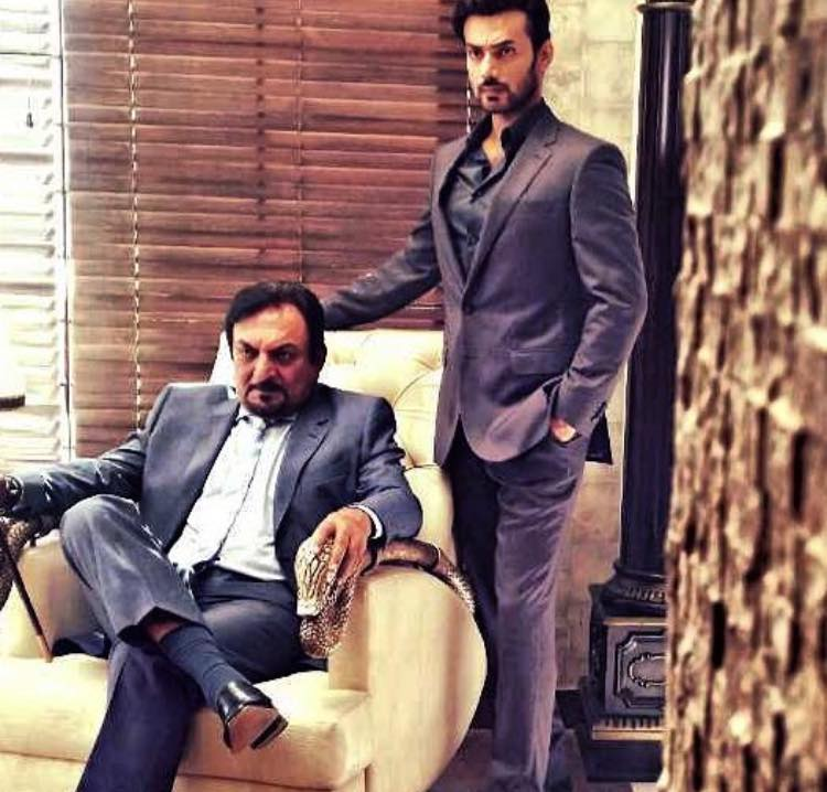 Abid Ali & Zahid Ahmed On The Sets Of Upcoming Project