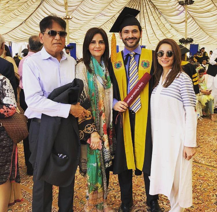 Actor Fahad Mirza On His Convocation