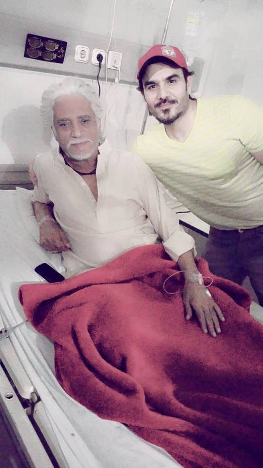 Actor Rashid Mehmood Is Recovering After Angiography